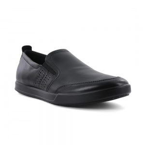 Ecco mens casual slip on shoes