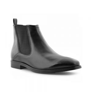 black ecco mens chelsea boot
