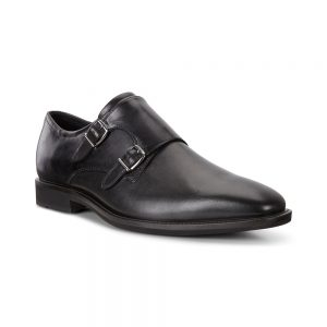 ecco black mens foemal shoes