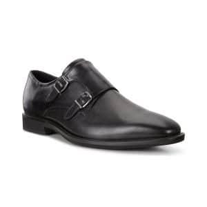 ecco black mens foemal shoes