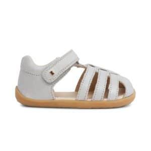 bobux jump silver sandal