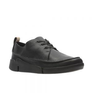 Clarks Tri Clara - Women's casual shoes in black leather