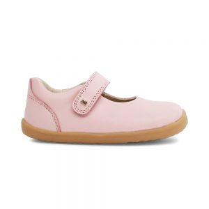 Girls Delight Seashell pink shoes by Bobux