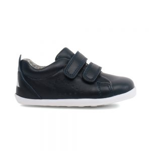 Bobux Grass Court Navy, unisex kids shoes