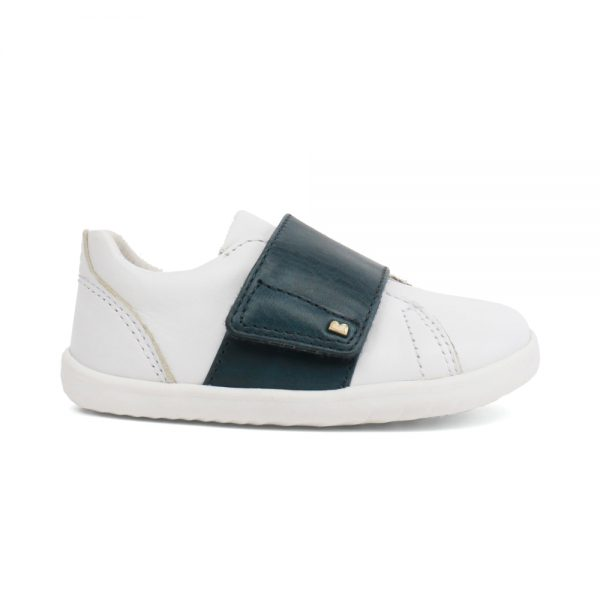 Unisex Boston White + Ink shoes by Bobux