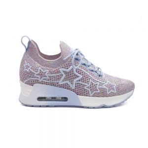ASH LUNATIC STAR WOMENS CASUAL SNEAKERS