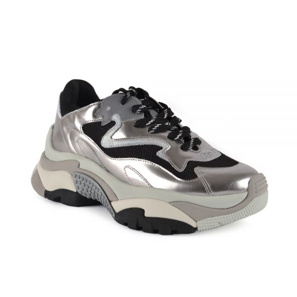 Ash Addict Women's Silver sneakers