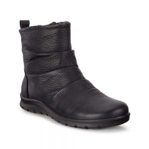 Ecco Babett, crafted from black premium Ecco leather