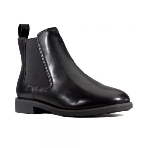 Clarks Griffin Plaza - Women's ankle boots in black leather