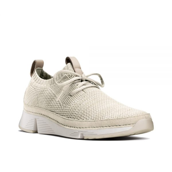 Clarks Tri Native Off White Combi - Women's casual shoes.