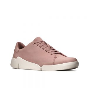 Clarks Tri Abby Mauve Nubuck women's casual shoes