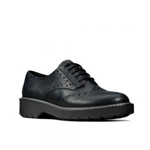 Clarks Witcombe Echo. With broguing on the black leather