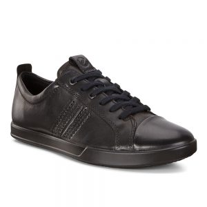 ECCO COLLIN 2.0. Made from Ecco premium Black Santiago leather.
