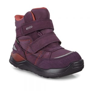 Ecco Urban Mini Girls Kids Mauve Skarsimba