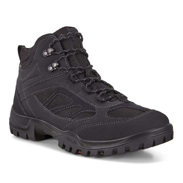 Ecco Xpedition III. Black Mens Outdoor Boots