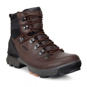Ecco Biom Hike. Mocha Lhasa Yak Leather Boots
