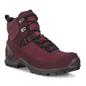 Ecco Biom Terrain. Nubuck Yak leather combines with a nubuck leather