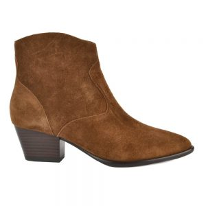 The Ash Heidi Bis boots russet suede
