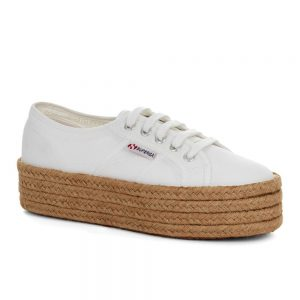 Superga 2790 Cotrope. Premium cotton canvas upper.
