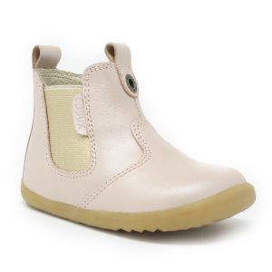 Bobux SU Jodhpur. Blush Shimmer. Best shoes for growing feet.
