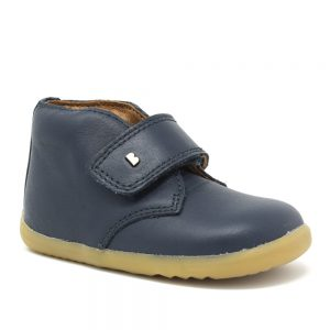 Bobux SU Desert. Navy Leather. Best shoes for growing feet