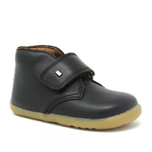 Bobux SU Desert. Black Leather. Best shoes for growing feet