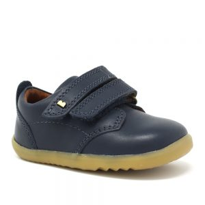 Bobux SU Port. Navy Step up. Best shoes for growing feet.