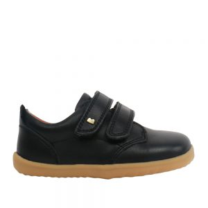 Bobux SU Port. Black leather Best shoes for growing feet.