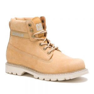 Cat Colorado Honey Reset. Suede and Full Grain Leather Uppe