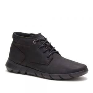 CAT Mainstay Black full grain Premium Leather
