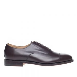 NPS Law Walnut 5 Eye Capped Oxford Shoe