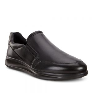 Ecco Aquet M Black Santiago. Premium Shoes
