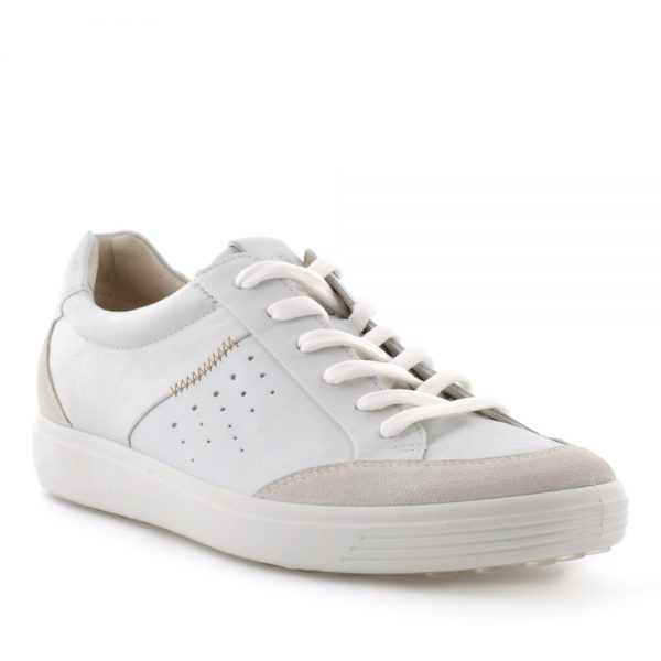 Ecco Soft 7 W Shadow White. Premium shoes.