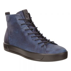 Ecco Soft 8 Indigo Black Blue Moonsambal.