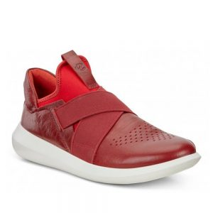 Ecco Scinapse. Premium Red Leather shoes