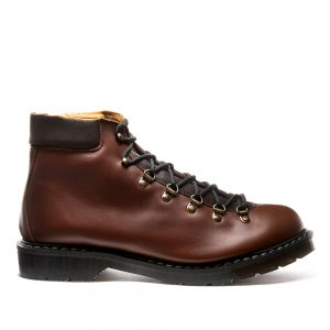 Solovair Brown Urban Hiker. Upper made from quality leather