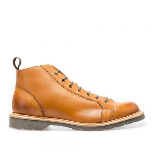 Solovair Acorn Monkey Boot. Upper made from quality leather.
