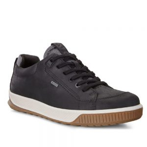 Ecco Byway Tred Black Oil Nubuck. Premium shoes