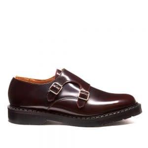 SOLOVAIR Burgundy Rub. Quality leather upper
