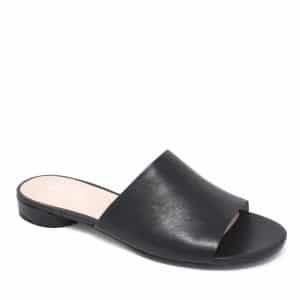 Ecco W Flat Sandal II Black Santiago