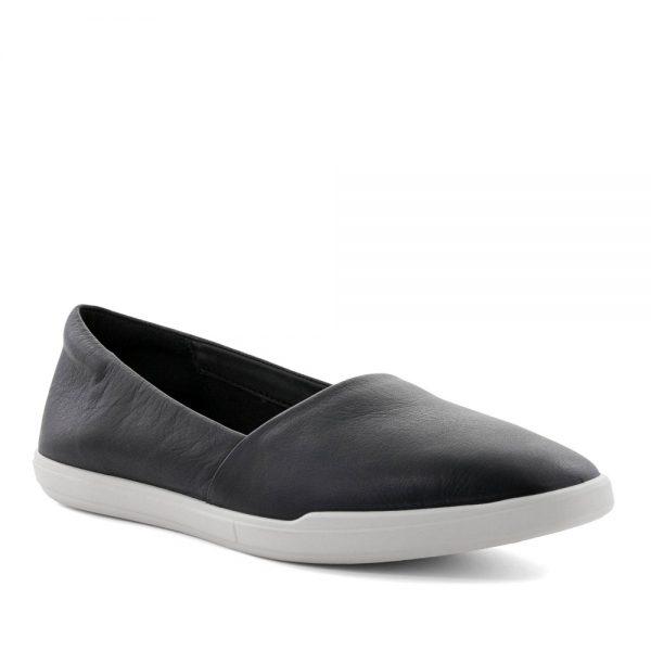 Ecco Simpil Black. Premium Black Leather shoes