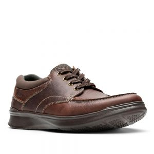 Clarks Cotrell Edge Brown Oily. Premium Shoes