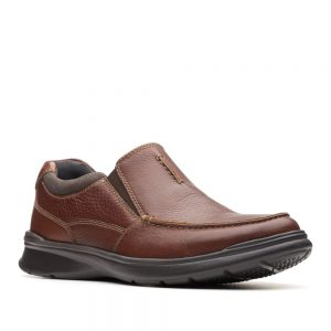 Clarks Cotrell Free Tobacco Leather. Premium Shoes