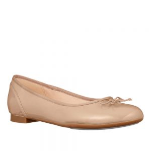 Clarks Couture Bloom Nude Patent. Free Standard Delivery