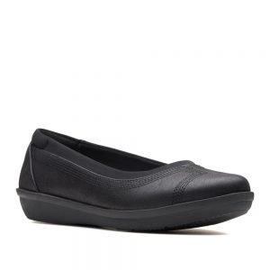 Clarks Ayla Low Black. Premium Shoes