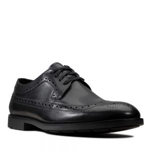 Clarks Ronnie Limit Black. Premium Shoes