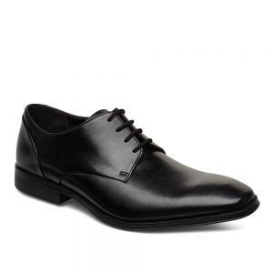 Clarks Gilman Plain Black. Premium Shoes