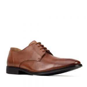 Clarks Gilman Plain Tan. Premium Shoes
