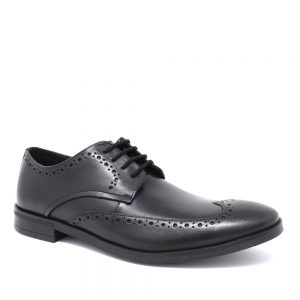 Clarks Stamford Limit Black. Premium Leather