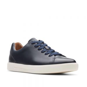 Clarks Un Costa Lace Navy Leather. Premium Shoes